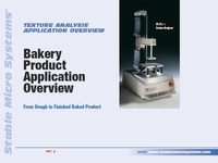 Bakery Product Application Overview