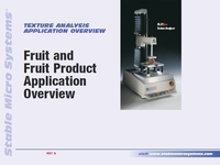 Fruit and Fruit Products